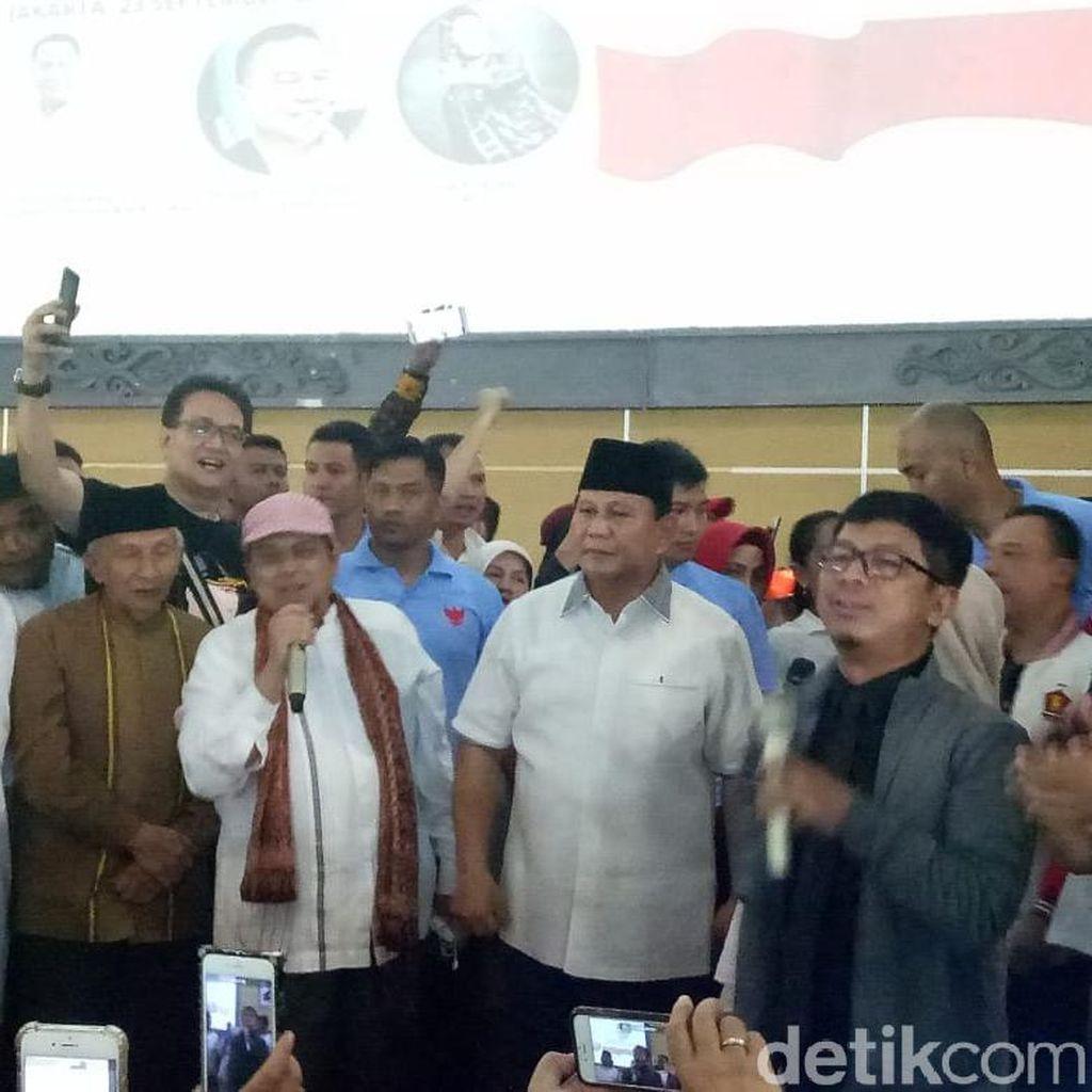 Ajak Kampanye Tanpa SARA, Prabowo: Kita Lebih Pancasilais