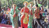 Pesan Damai Lewat Tarian di Festival Pesona Danau Limboto