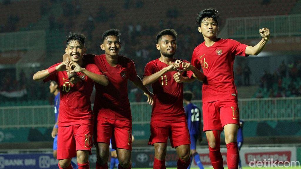 Timnas Indonesia U-19 Tuai hasil Imbang Lawan Thailand
