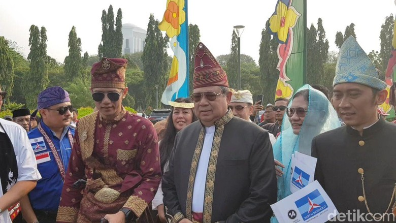 Walk Out, SBY Tak Teken Komitmen Kampanye Damai 2019