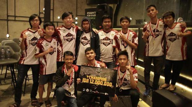 PG.Barracx Wakili Indonesia di Turnamen Dota 2 Internasional