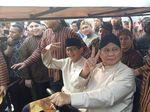 Prabowo Hadiri Acara di Jakarta, Sandiaga Kampanye di Semarang