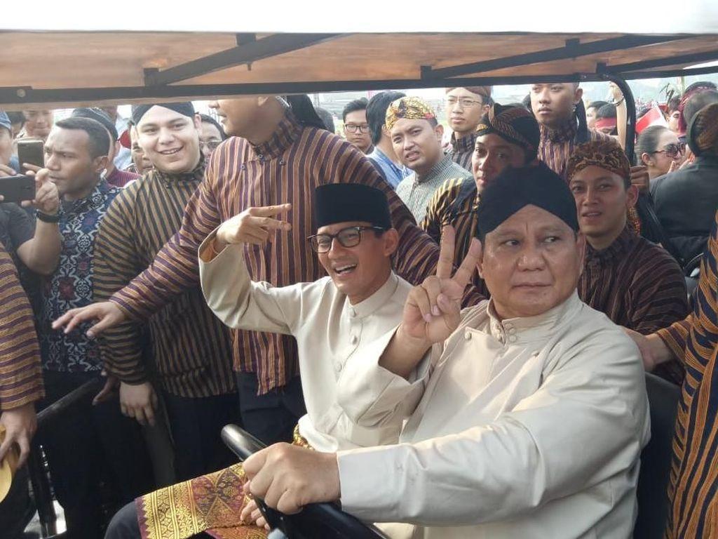Pesan Prabowo soal Kampanye Pilpres: Yang Damai Ya