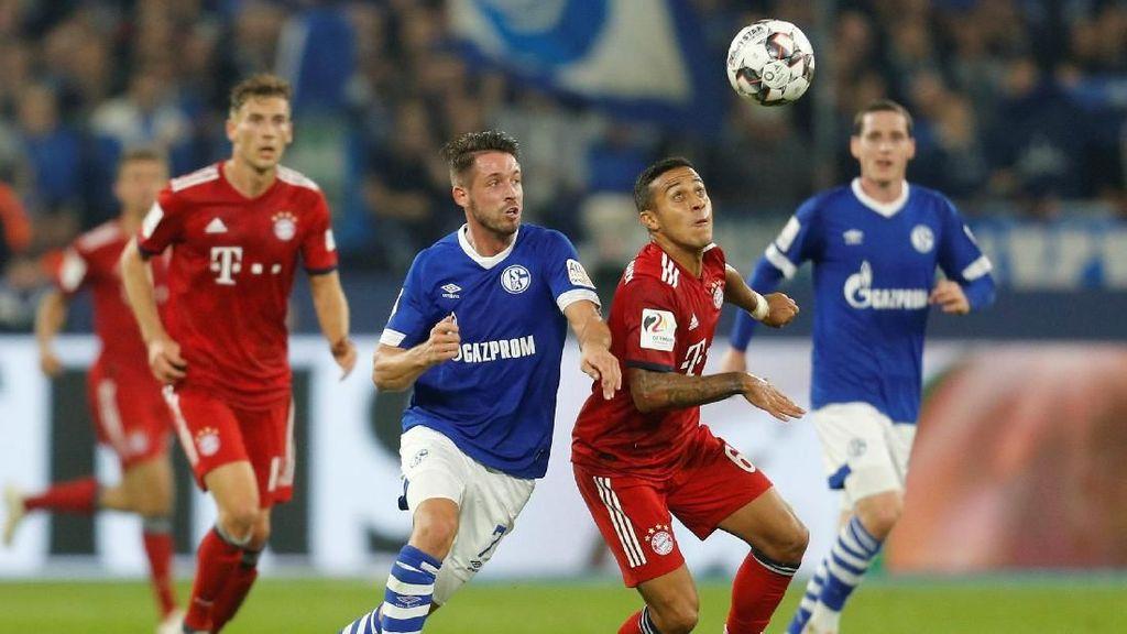 Hasil Liga Jerman: Benamkan Schalke, Bayern Munich Masih Sempurna