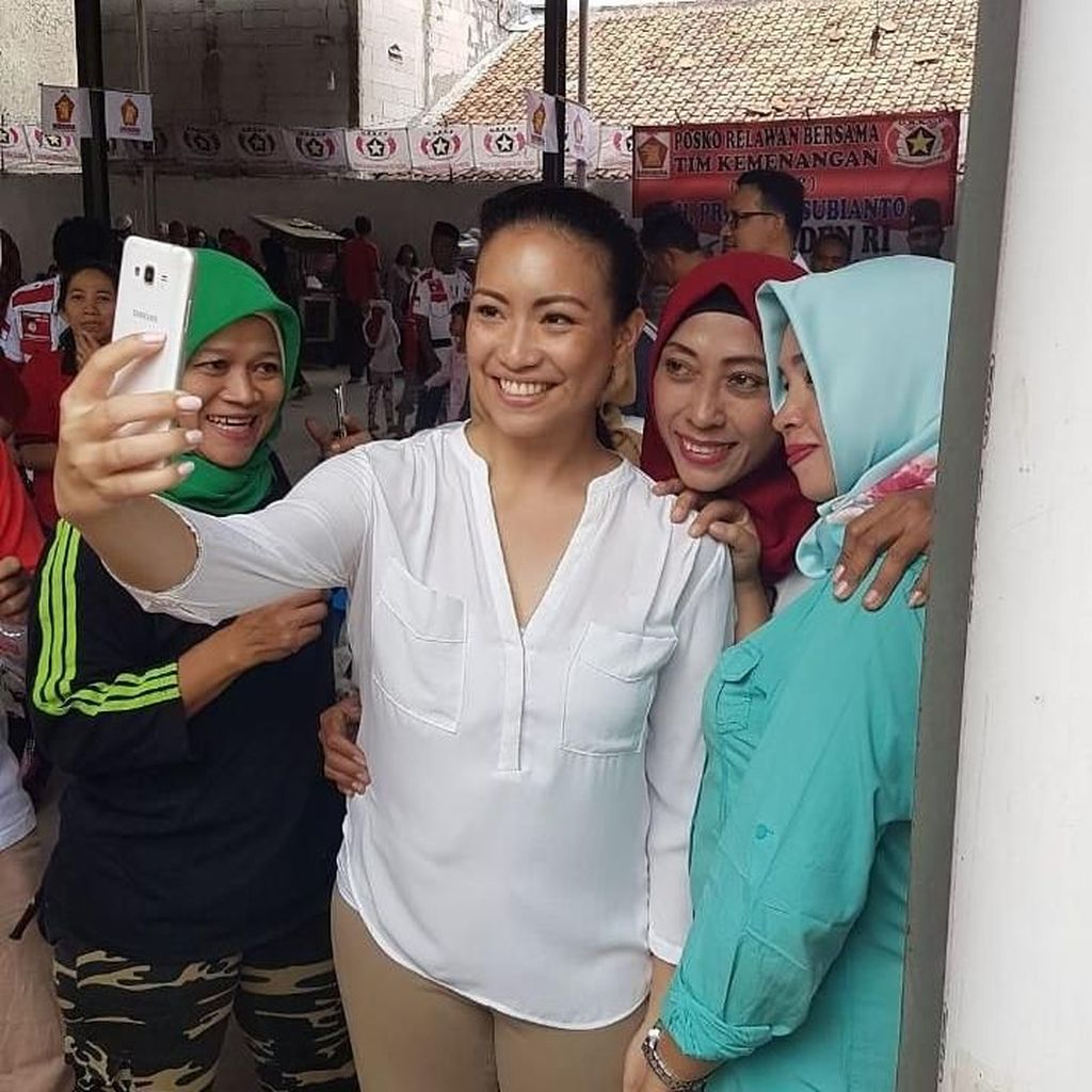 Diusulkan Jadi Cawagub DKI, Ini Respons Sara Ponakan Prabowo