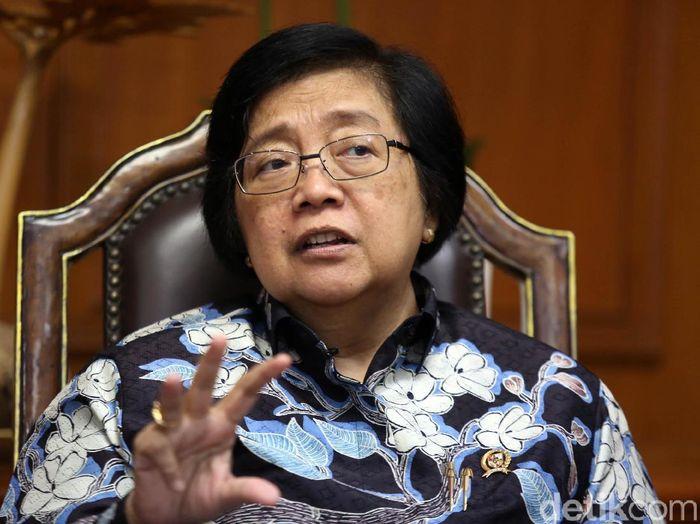 Menteri LHK Siti Nurbaya Bakar/Foto: Agung Pambudhy