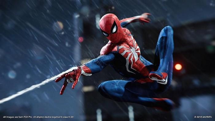 Ada momen bukan muhrim di game Spider-man PS4 (Foto: PlayStation.com)