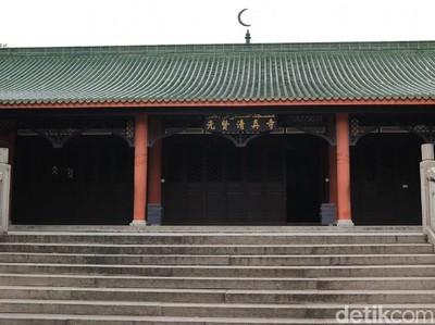 Foto: Masjid Sahabat Rasulullah di China