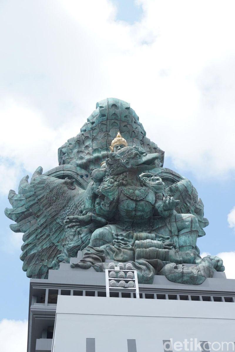 Patung Garuda Wisnu Kencana (GWK) menjadi ikon baru Bali. (Aditya Mardiastuti/detikTravel)