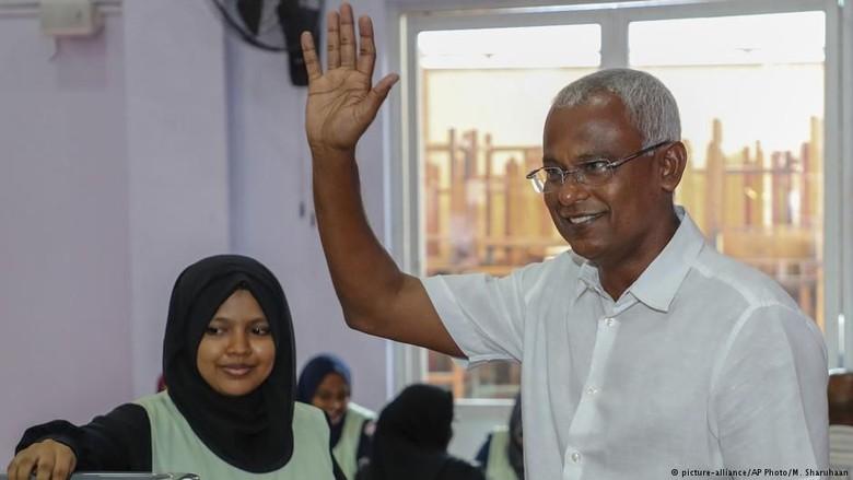 Kandidat Oposisi Jadi Kejutan dan Menangkan Pilpres Maladewa
