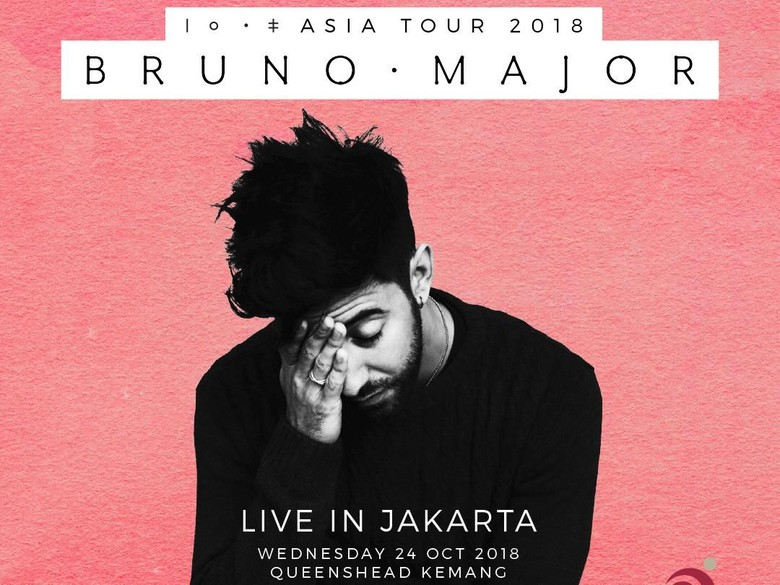 Tur Asia, Bruno Major Sambangi Indonesia