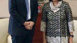 Sri Mulyani Bertemu Menteri Ekonomi Inggris, Ini yang Dibahas