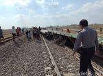 KA Barang Tergelincir di Grobogan, Jalur Lintasan Tetap Normal