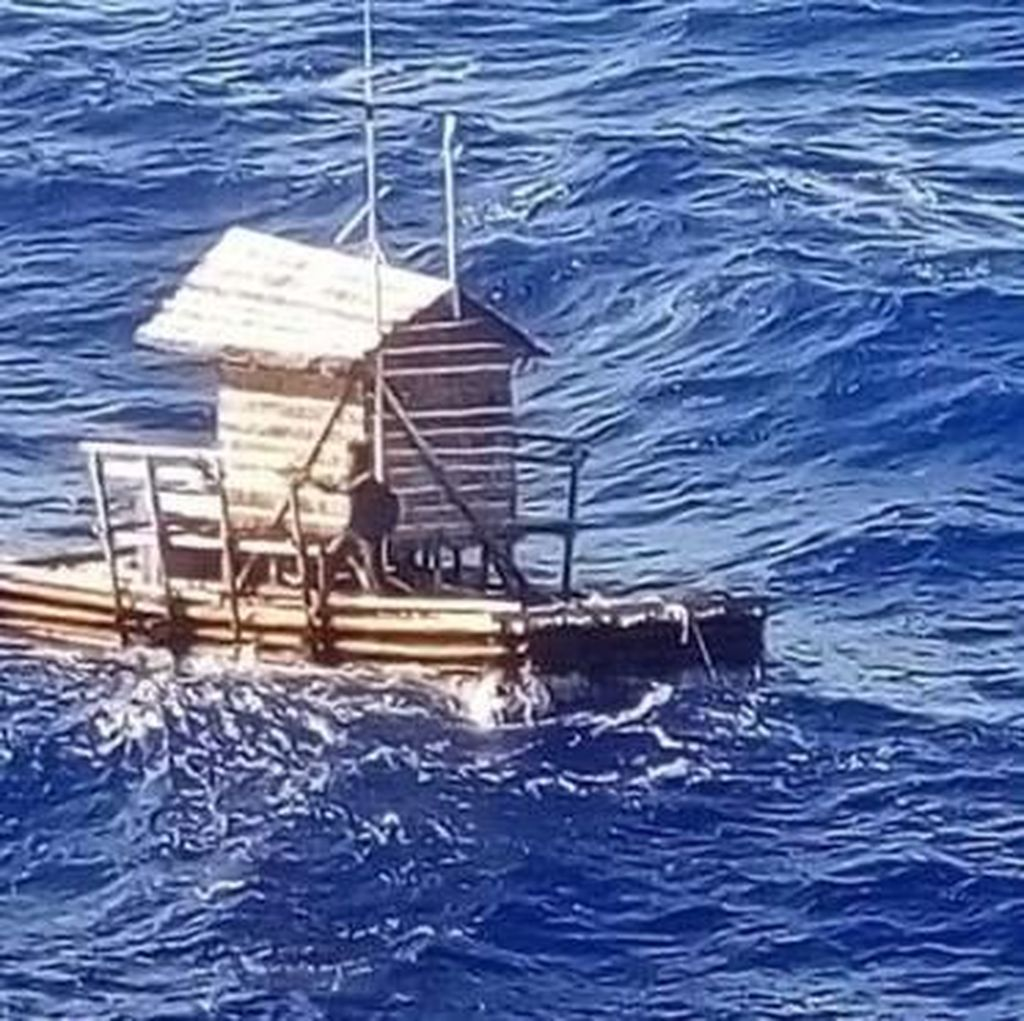 Kisah Aldi Life of Pi Terombang-ambing di Laut 49 Hari Mendunia