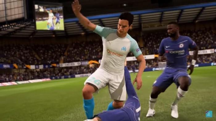Bertahan jadi aspek penting di FIFA 19. Foto: EA Sports