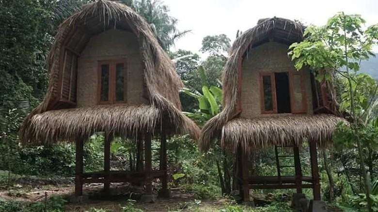 Bale Balaq, rumah tradisional Suku Sasak yang tahan gempa (John/Istimewa)