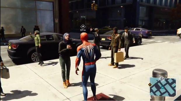 Momen 'Bukan Muhrim' di Game Spider-man