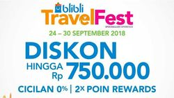 Dear Traveler, Blibli Bikin Online Travel Fair