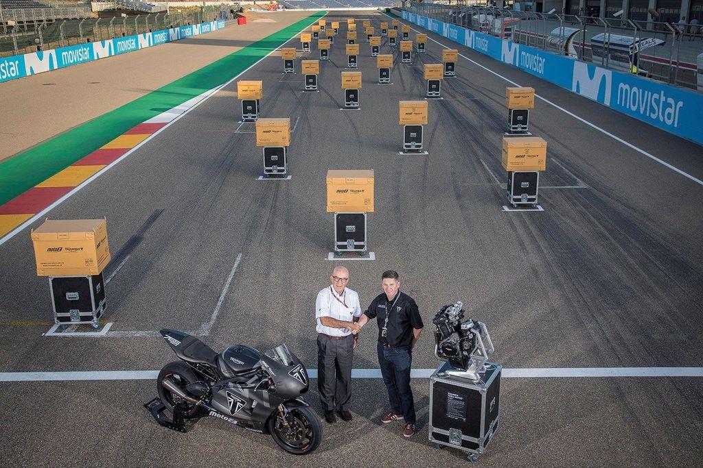 Mesin Triumph buat Moto2