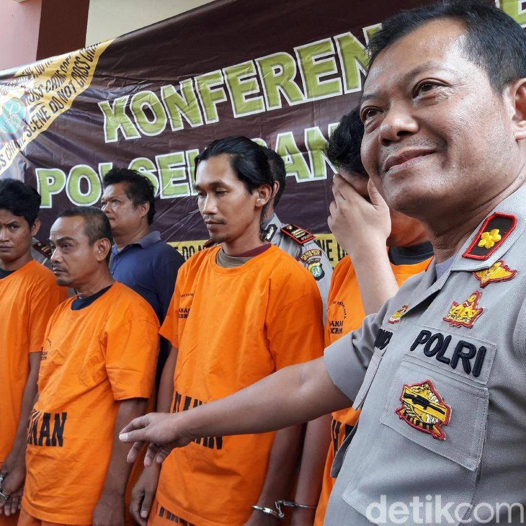 Pungli Sopir Truk di Bantar Gebang, 4 Orang Ditangkap Polisi