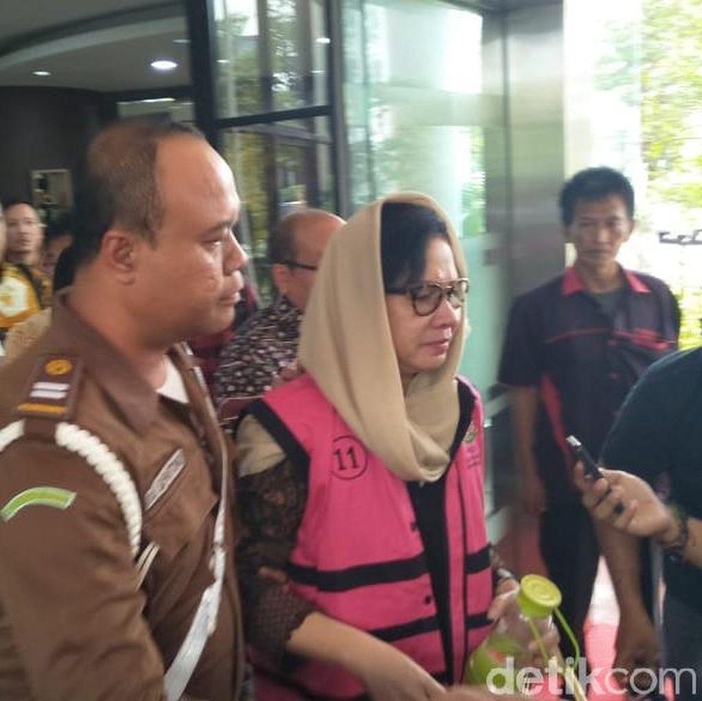 Eks Dirut Pertamina Karen Agustiawan Ditahan di Rutan Pondok Bambu