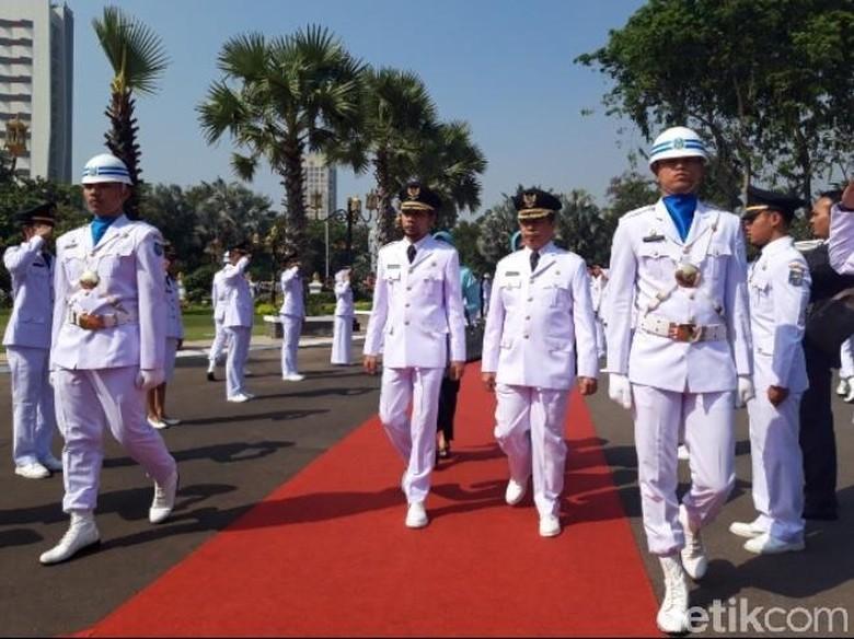 Resmi, 12 Kepala Daerah di Jawa Timur Dilantik