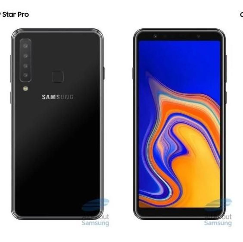 Galaxy A9 Pro (2018) Bawa Lima Kamera