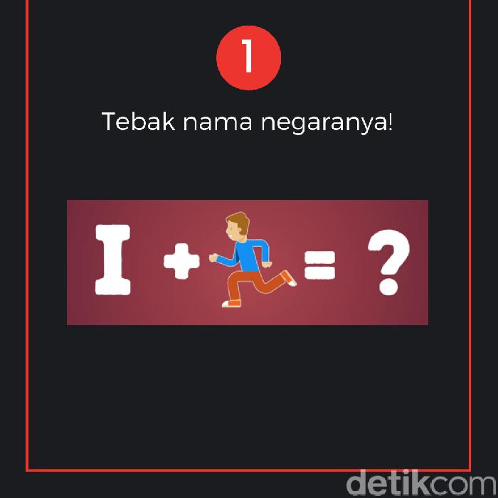 Coba tebak nama negaranya! Clue: ada bahasa Inggrisnya. (Foto: detikcom)