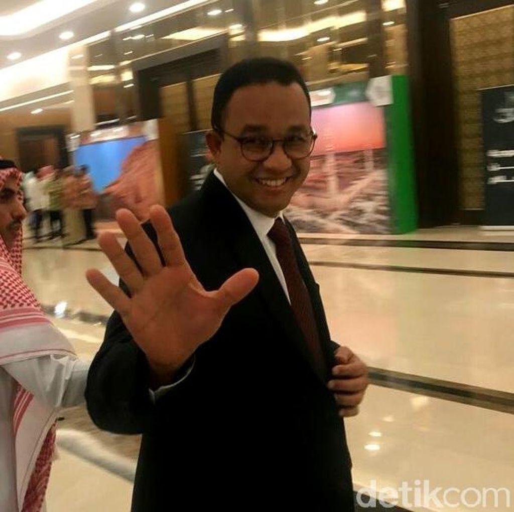 Susul Prabowo, Anies Hadiri Peringatan Hari Nasional Arab Saudi