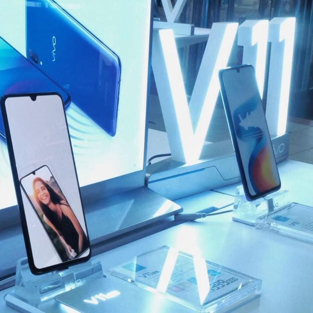 Dijual Pre Order, Penjualan Vivo V11 Pro Raih Hasil Positif