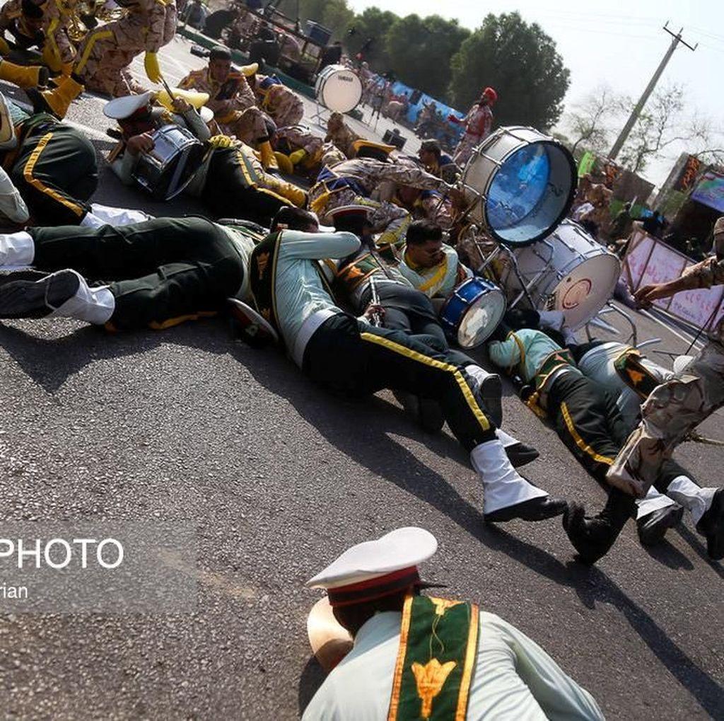 Arab Saudi Bantah Terlibat Serangan Saat Parade Militer Iran