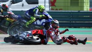 Cedera Patah Tulang, Lorenzo Bisa Membalap di MotoGP Thailand?