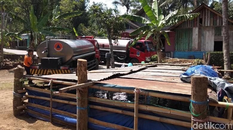 BPBD Kabupaten Semarang Kehabisan Stok Air Bersih untuk Droping