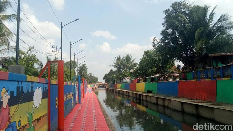Foto: Sungai Sekanak di Palembang (Raja Adil Siregar/detikTravel)