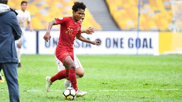 Bagus Kahfi mencuri perhatian sejak membela Timnas Indonesia U-16.