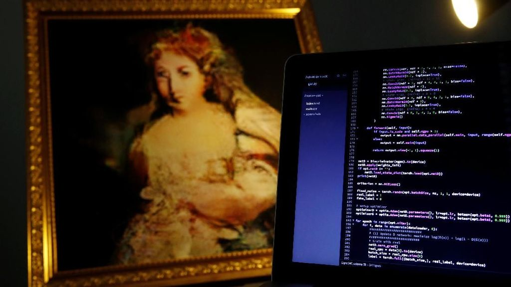 Unik! Lukisan Abad ke-17 Senilai Rp 148 Juta Dibuat oleh Robot