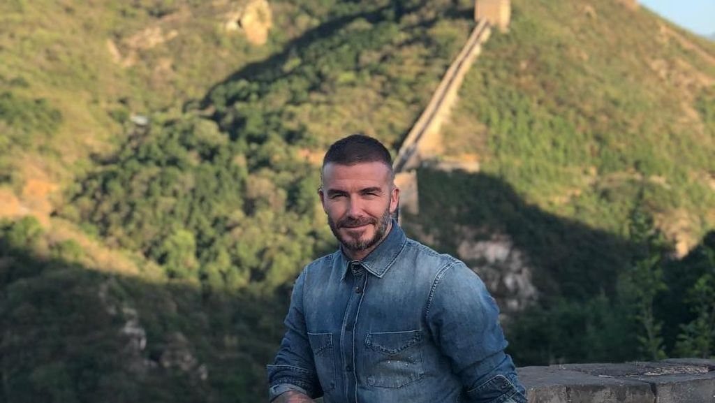 Pertama Kali ke Tembok China, David Beckham: Amazing