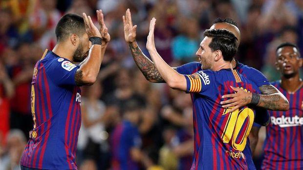 Luis Suarez selalu menghadirkan kombinasi ciamik dengan Lionel Messi.