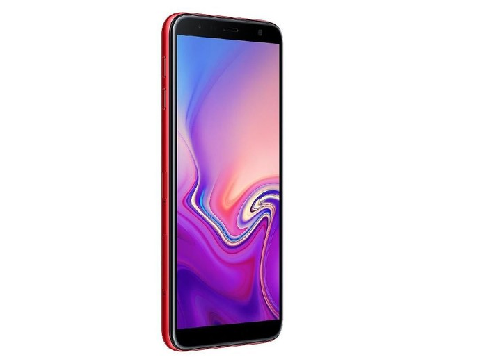 Samsung J6+ yang baru dirilis di India (Foto: Samsung.com)