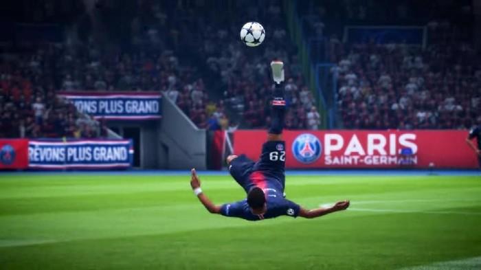 Gol-gol salto yang bisa dibilang di atas spektakuler bisa dijumpai di FIFA 19. Foto: EA Sports