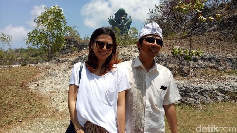 Wisatawan di GWK Badung, Bali (Aditya Mardiastuti/detikTravel)