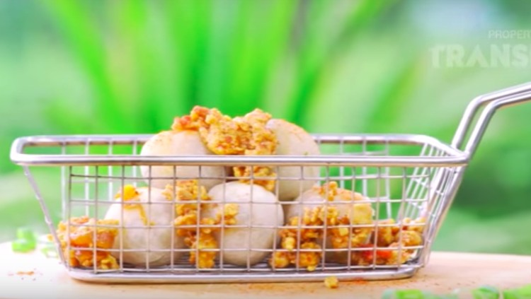 Resep Cimol Isi Ayam Pedas, Camilan Hits Pedas Bingits