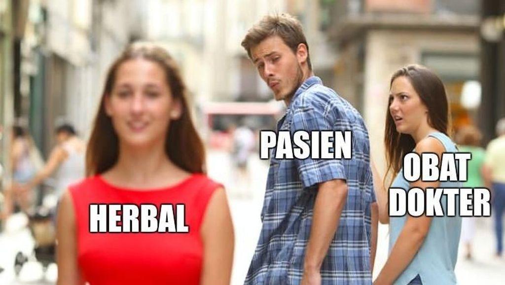 Kumpulan Meme Receh Buat Kamu yang Susah Minum Obat