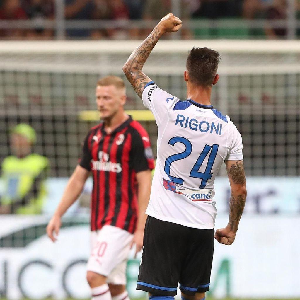 Rigoni si Spesialis Gol Away Bikin Milan Gigit Jari
