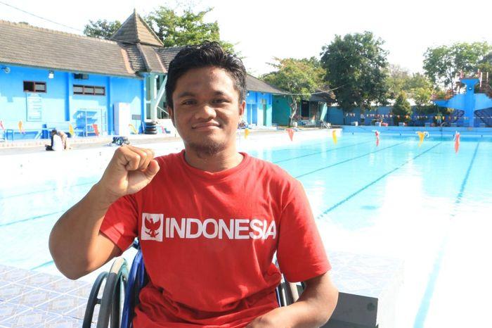 Mulyadi, perenang Indonesia di Asian Para Games 2018 (Dok. Kemenpora)
