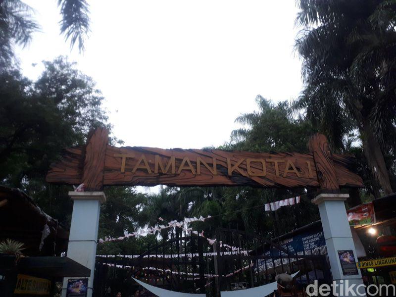 Inilah Taman Kota 1 BSD, letaknya di Jalan Letnan Sutopo, BSD City, Tangerang Selatan, Banten (Shinta/detikTravel)