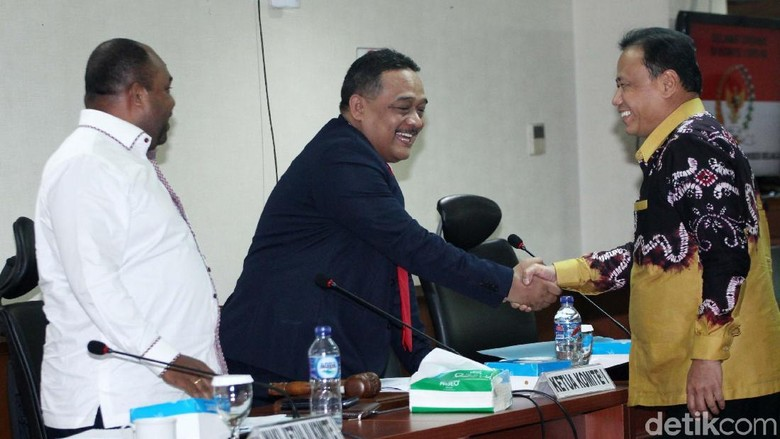 Komite I DPD Raker dengan KPU dan Bawaslu