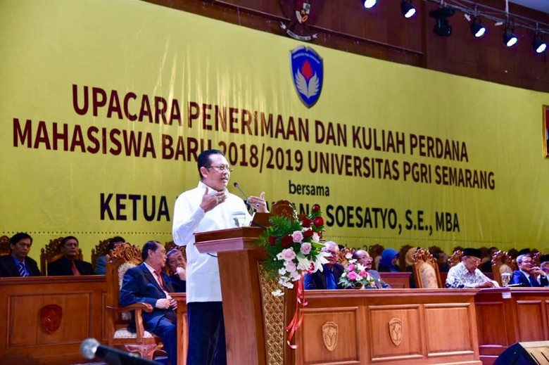 Ketua DPR Harap Perguruan Tinggi Lahirkan Pengusaha Muda