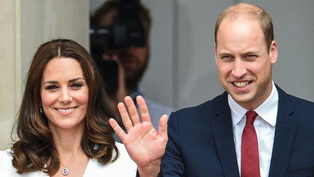 Pangeran William dan Kate Middleton Ternyata Doyan Sushi
