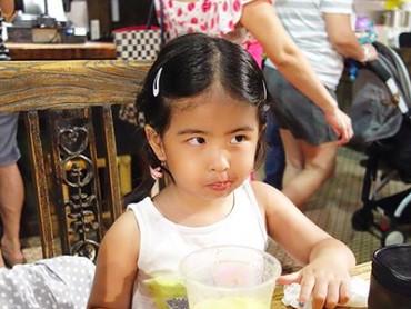 Si kecil Eleanor yang akrab disapa Enoy tahun ini genap berumur 4 tahun. (Foto: Instagram/ @bams_1606)